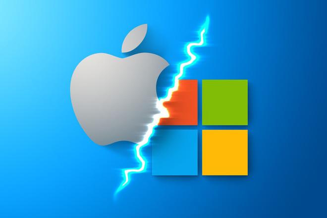 Windows 11, khởi đầu cho cuộc chiến trong kỷ nguyên mới giữa Apple - Microsoft - Ảnh 1.