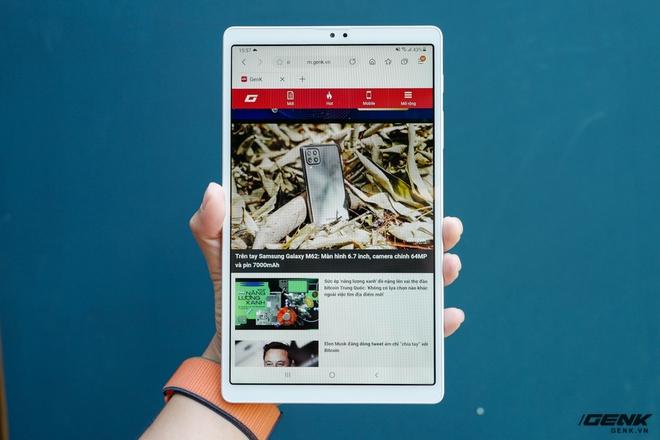 Trên tay Galaxy Tab A7 Lite: Máy tính bảng giá rẻ nhất thị trường có gì hấp dẫn? - Ảnh 8.