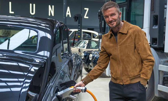 David Beckham đầu tư vào lĩnh vực xe điện - Ảnh 1.