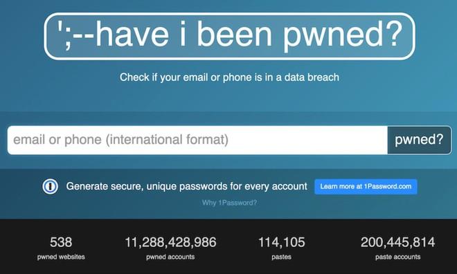 FBI bất ngờ hợp tác với trang Have I been Pwnd, giúp hỗ trợ điều tra các vụ đánh cắp mật khẩu - Ảnh 1.