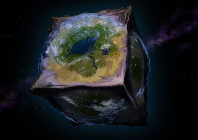 Điều gì sẽ xảy ra nếu Trái Đất là một khối lập phương? - Ảnh 4.