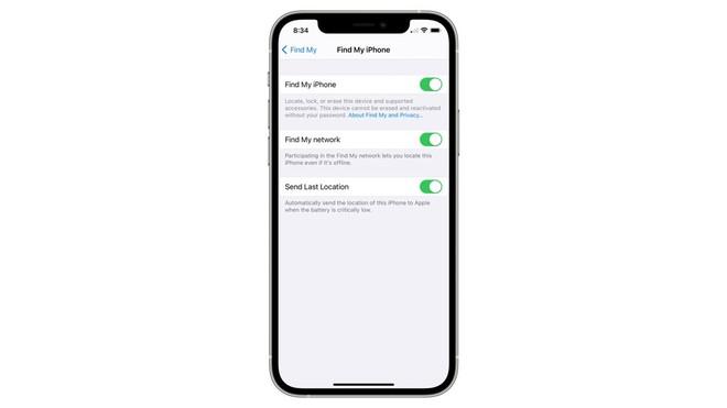 iOS 15 có thể tìm iPhone của bạn ngay cả khi đã tắt nguồn hoặc bị kẻ trộm khôi phục cài đặt gốc - Ảnh 2.