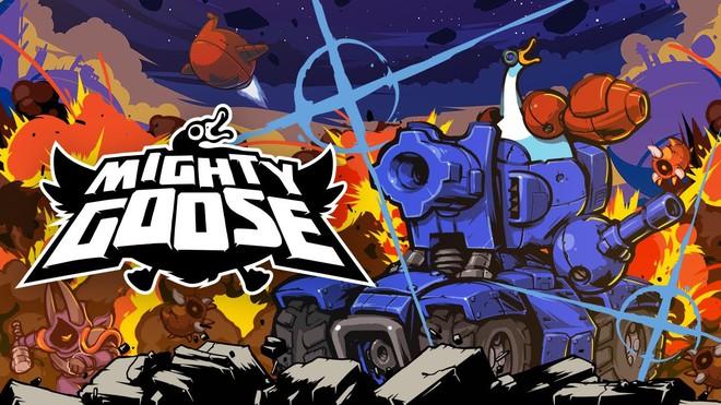 Giới thiệu game Mighty Goose: hậu duệ của Rambo Lùn trứ danh, đưa bạn vào vai một con ngỗng hùng mạnh trang bị súng ống tận răng - Ảnh 1.