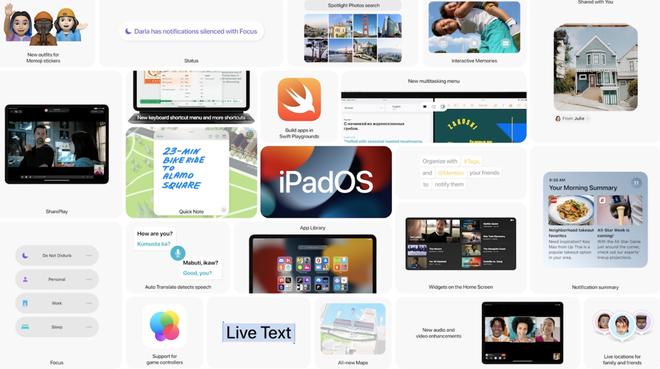 iPadOS 15 chính thức: Thiết kế widget linh hoạt, đa nhiệm tốt hơn - Ảnh 8.