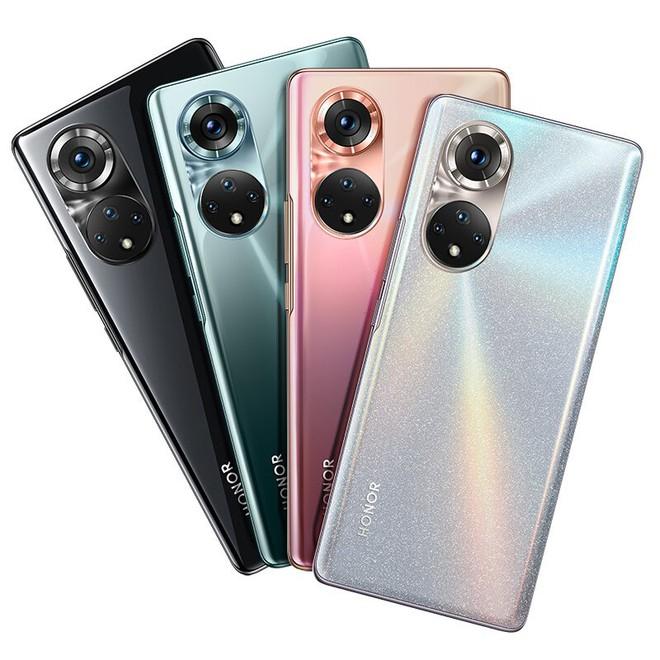 Honor 50 và 50 Pro lộ toàn bộ thiết kế, cụm camera sau giống với Huawei P50 - Ảnh 2.
