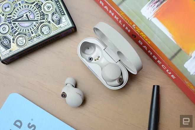 Sony ra mắt tai nghe cao cấp WF-1000XM4: Chống ồn, có LDAC, pin 8 tiếng và chống nước IPX4, giá 279,99 USD - Ảnh 3.