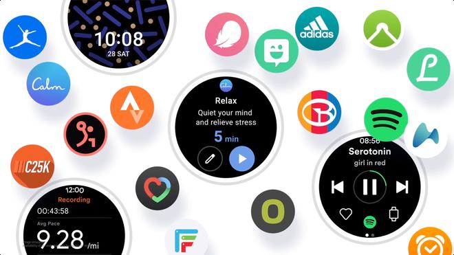 Samsung ra mắt One UI Watch dành cho Galaxy Watch, dựa trên Android Wear OS - Ảnh 1.