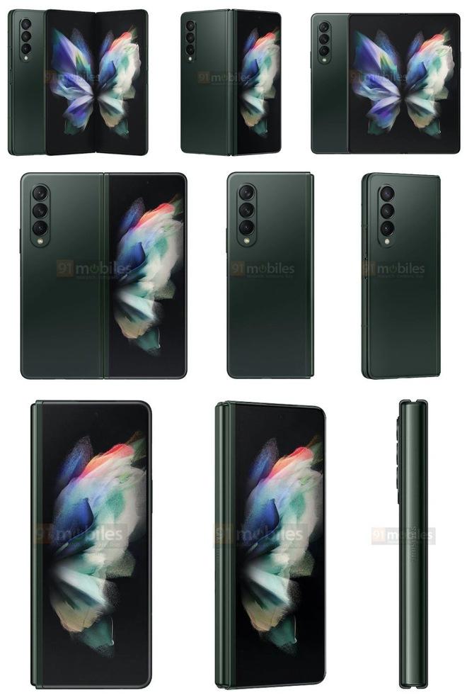 Đây là Galaxy Z Fold3 và các tuỳ chọn màu sắc - Ảnh 1.