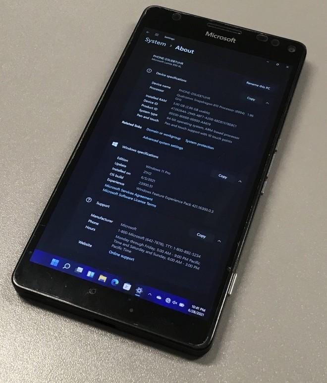 Cài đặt thành công Windows 11 lên chiếc Lumia 950 XL gần 6 năm tuổi - Ảnh 5.