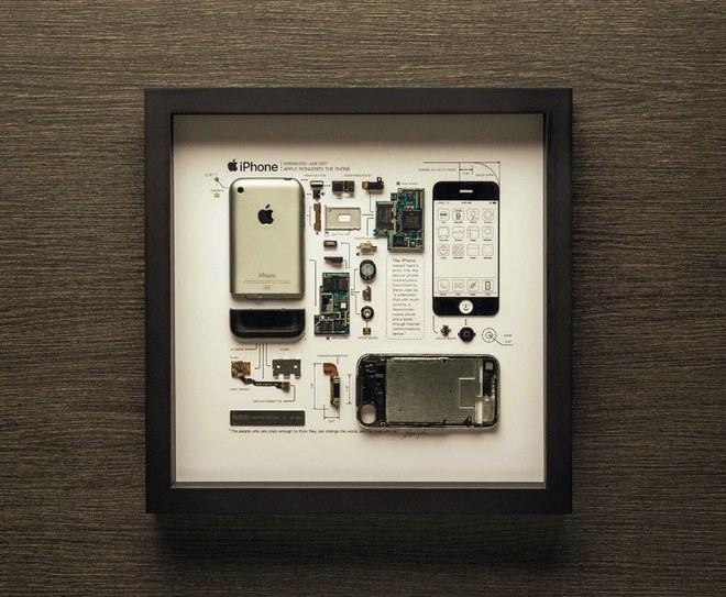 Phiên bản iPhone đầu tiên được đóng khung nghệ thuật, chỉ bán giới hạn 999 chiếc, giá 399 USD - Ảnh 1.