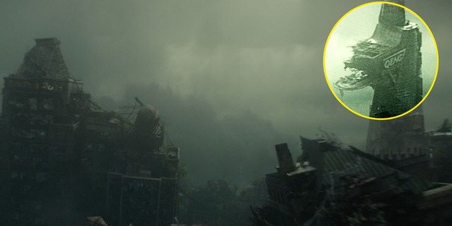 Soi tiểu tiết Loki tập thứ 5: Tháp Avengers bị bán, Thanos cưỡi trực thăng, búa Mjolnir bị vứt như phế thải - Ảnh 2.