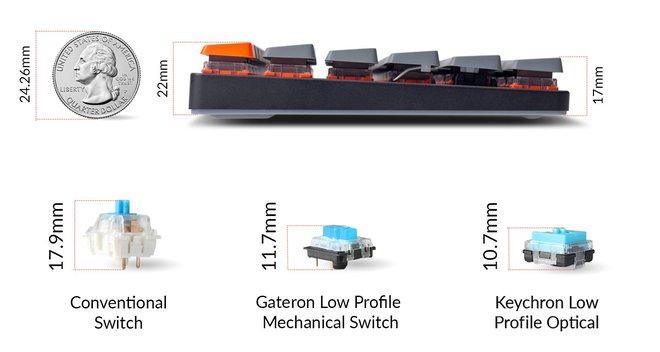 Trên tay Keychron K3 - Bàn phím cơ không dây siêu mỏng, thay được cả switch - Ảnh 13.