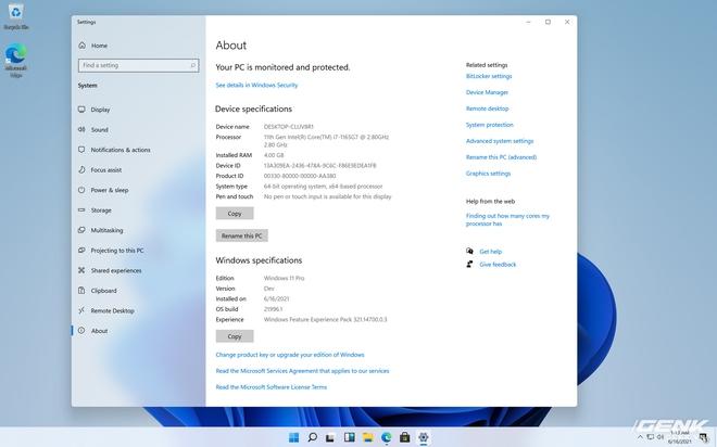Đây là Windows 11 với giao diện hoàn toàn mới - Ảnh 5.