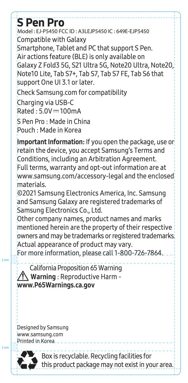 Samsung Galaxy Z Fold 3 có thể sẽ ra mắt cùng với S Pen Pro - Ảnh 2.
