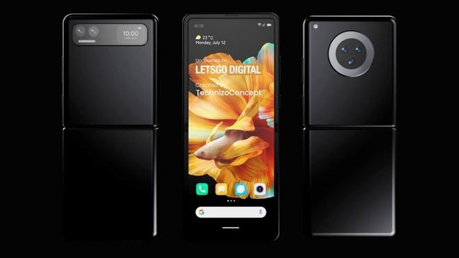 Đây có thể là chiếc smartphone màn hình gập đối đầu với Galaxy Z Flip của Xiaomi - Ảnh 1.