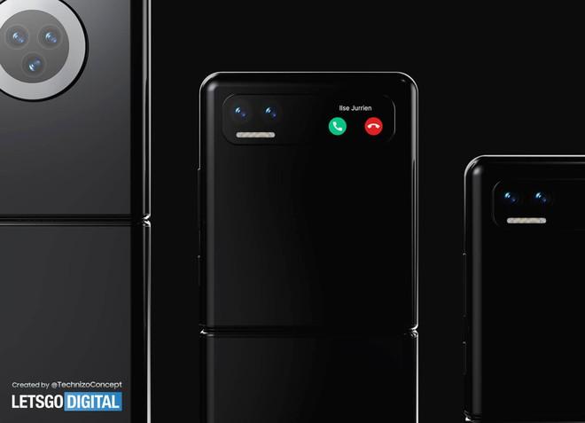 Đây có thể là chiếc smartphone màn hình gập đối đầu với Galaxy Z Flip của Xiaomi - Ảnh 2.