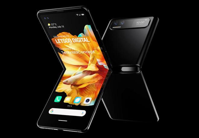 Đây có thể là chiếc smartphone màn hình gập đối đầu với Galaxy Z Flip của Xiaomi - Ảnh 3.