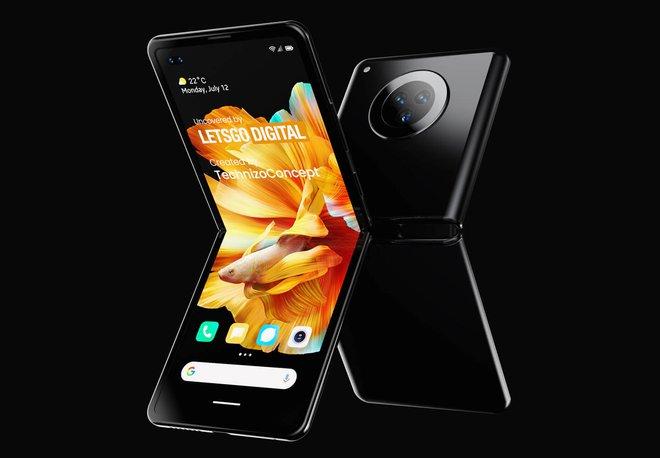 Đây có thể là chiếc smartphone màn hình gập đối đầu với Galaxy Z Flip của Xiaomi - Ảnh 5.