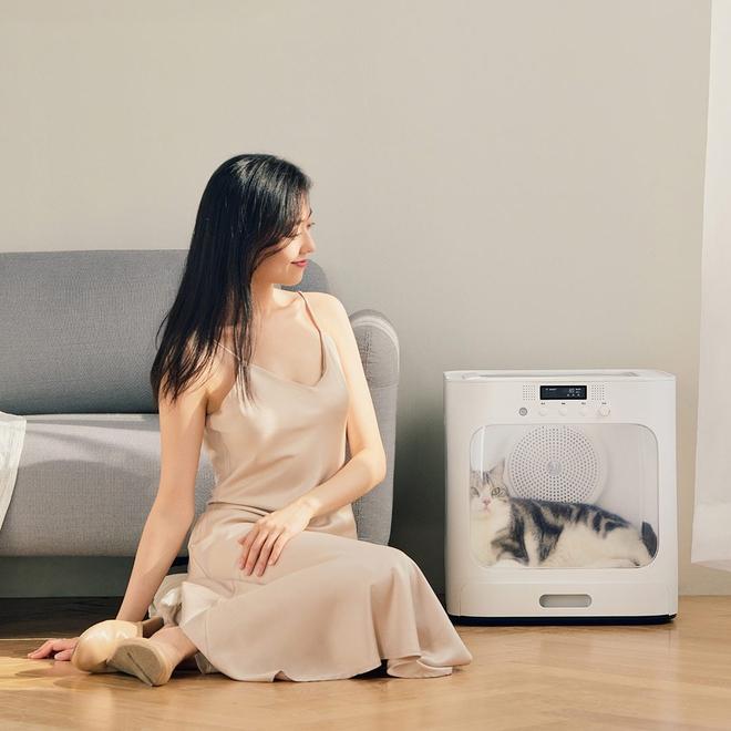 Xiaomi ra mắt máy sấy lông thú cưng: Nhỏ gọn, làm ấm nhanh, có chế độ bảo vệ, giá 2.5 triệu đồng - Ảnh 1.