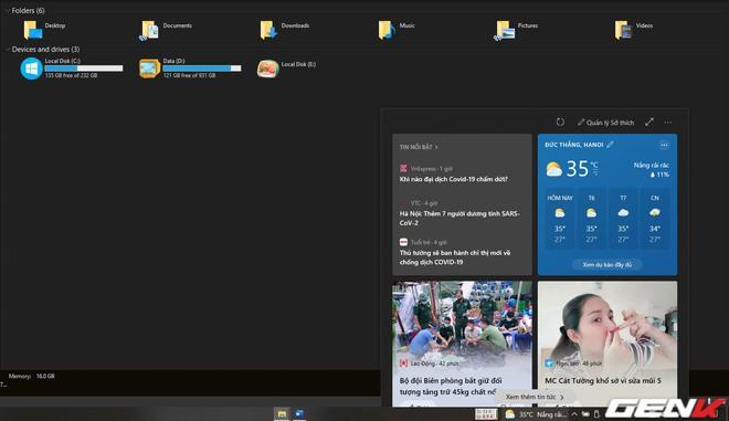 Bạn không thích Microsoft Edge? Đây là cách để bắt News and Interests mở bằng Chrome/Firefox... trên Windows 10 - Ảnh 1.