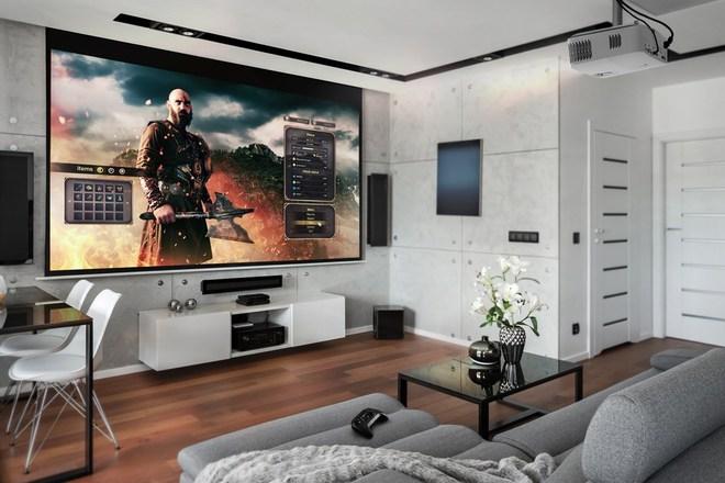 Có nên mua máy chiếu thay TV không? - Ảnh 3.
