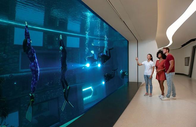 Sử dụng 14 triệu lít nước, Dubai đã xây dựng được hồ bơi sâu nhất thế giới và tái hiện lại lục địa Atlantis đã mất - Ảnh 9.
