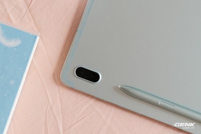 Mở hộp Galaxy Tab S7 FE: Thiết kế vẫn cao cấp, có thêm màu Xanh Mint trẻ trung, cấu hình rút gọn, có kết nối 5G, giá 13.9 triệu đồng - Ảnh 5.