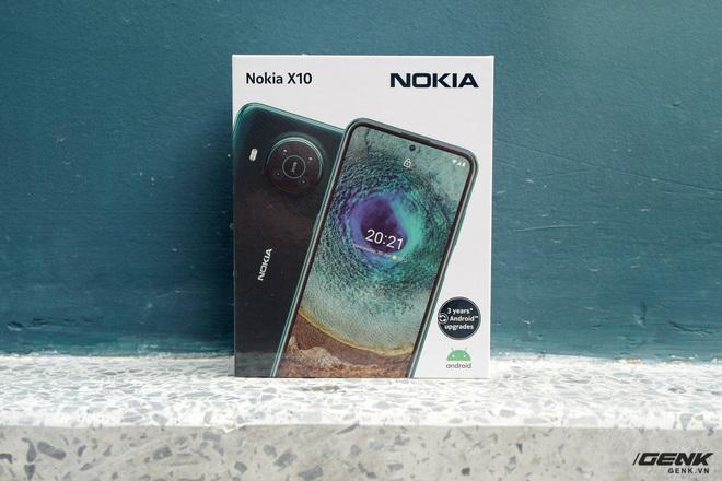 Trên tay Nokia X10: cụm 4 camera Zeiss độc đáo, vi xử lý Snapdragon 480, có hỗ trợ 5G - Ảnh 1.