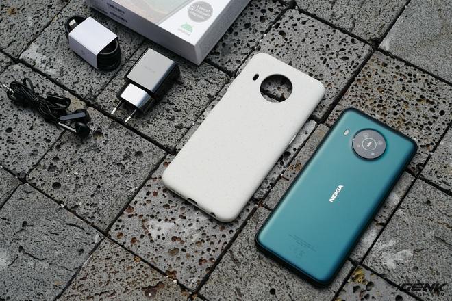 Trên tay Nokia X10: cụm 4 camera Zeiss độc đáo, vi xử lý Snapdragon 480, có hỗ trợ 5G - Ảnh 18.