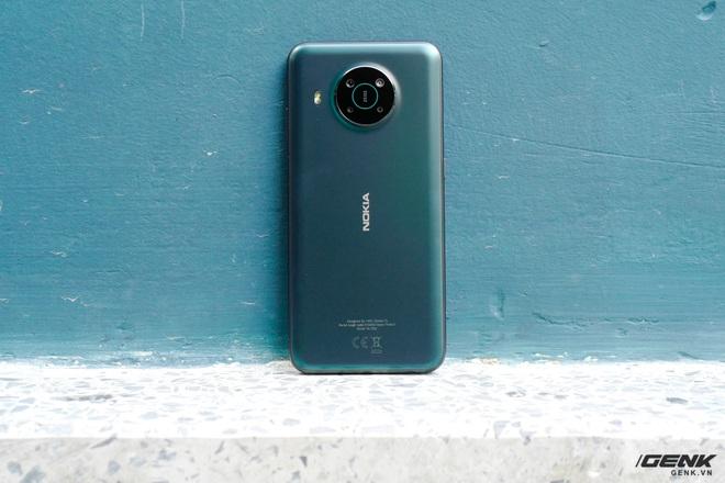 Trên tay Nokia X10: cụm 4 camera Zeiss độc đáo, vi xử lý Snapdragon 480, có hỗ trợ 5G - Ảnh 3.