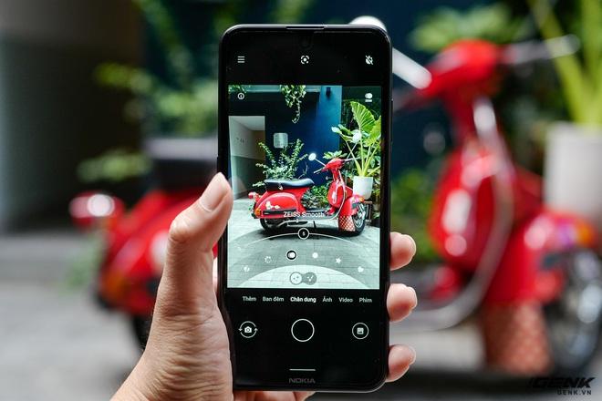 Trên tay Nokia X10: cụm 4 camera Zeiss độc đáo, vi xử lý Snapdragon 480, có hỗ trợ 5G - Ảnh 8.