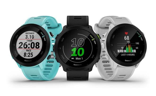 Garmin ra mắt đồng hồ chạy bộ Forerunner 55: Đa dạng tính năng thông minh, pin 14 ngày, giá 4.9 triệu đồng - Ảnh 1.