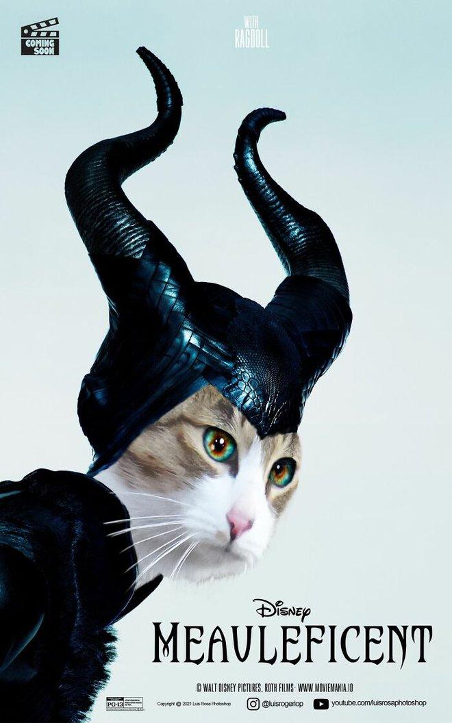 [Chùm ảnh vui] Sẽ thế nào nếu các boss chó mèo thay con người thủ vai chính trong những bộ phim đình đám thế giới? - Ảnh 17.