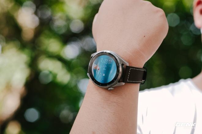 Trên tay Huawei Watch 3 Pro: Thiết kế nam tính chỉ hợp với cổ tay to, hỗ trợ eSIM, có tính năng đo thân nhiệt, pin 5 ngày, giá 13 triệu đồng - Ảnh 5.