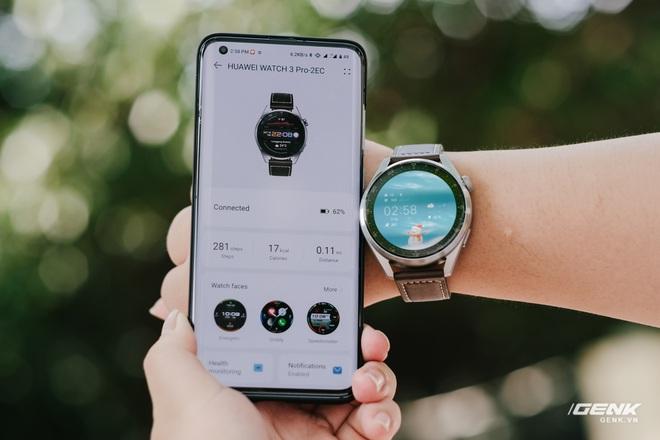 Trên tay Huawei Watch 3 Pro: Thiết kế nam tính chỉ hợp với cổ tay to, hỗ trợ eSIM, có tính năng đo thân nhiệt, pin 5 ngày, giá 13 triệu đồng - Ảnh 16.