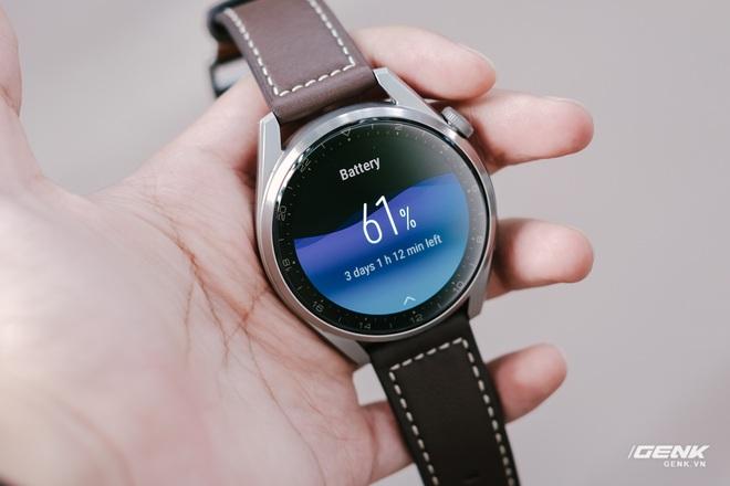 Trên tay Huawei Watch 3 Pro: Thiết kế nam tính chỉ hợp với cổ tay to, hỗ trợ eSIM, có tính năng đo thân nhiệt, pin 5 ngày, giá 13 triệu đồng - Ảnh 20.