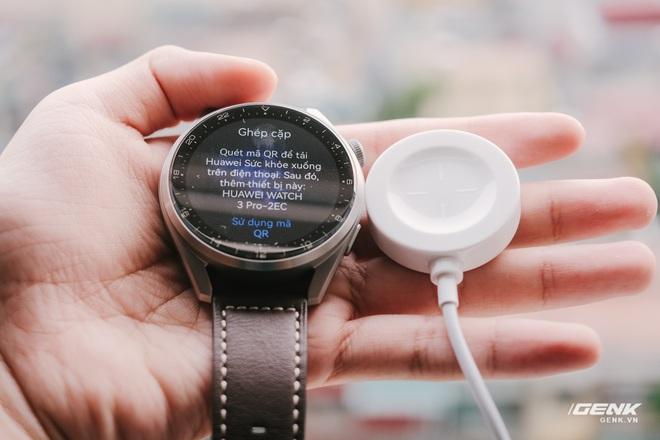 Trên tay Huawei Watch 3 Pro: Thiết kế nam tính chỉ hợp với cổ tay to, hỗ trợ eSIM, có tính năng đo thân nhiệt, pin 5 ngày, giá 13 triệu đồng - Ảnh 21.