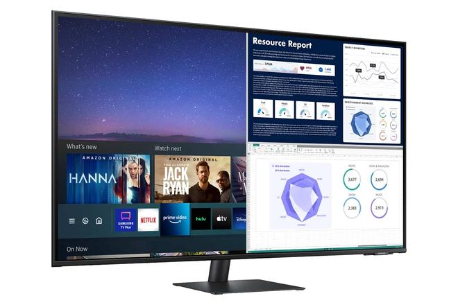 """Samsung muốn biến màn hình máy tính thành lựa chọn """"một cho tất cả"""" - Ảnh 1."""