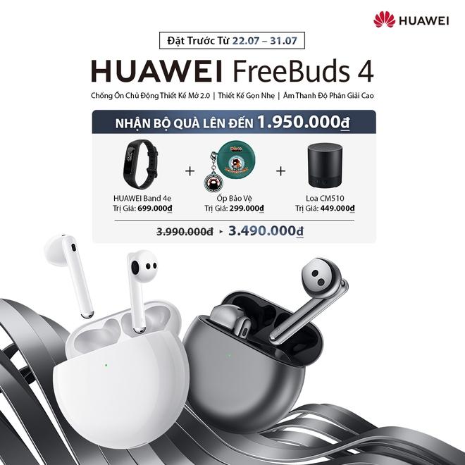 Huawei ra mắt đối thủ cạnh tranh AirPods Pro tại Việt Nam - Ảnh 4.