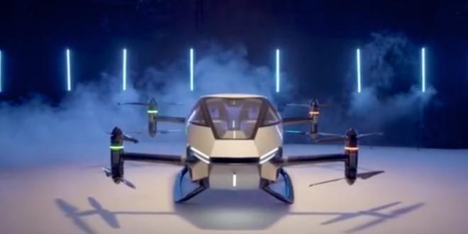 Hãng xe điện Trung Quốc ra mắt nguyên mẫu xe bay tự hành mới, kỳ vọng sớm thương mại hóa sản phẩm - Ảnh 2.