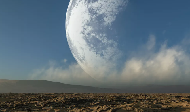 Sẽ ra sao nếu khoảng cách giữa Mặt Trăng và Trái Đất chỉ còn một nửa? - Ảnh 1.