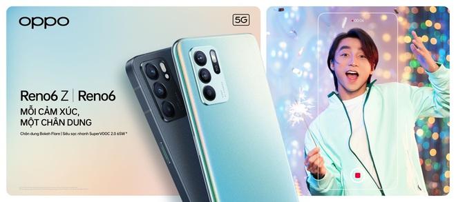 OPPO Reno6/6 Z 5G chính thức ra mắt: Thiết kế Reno Glow ấn tượng, camera nâng cấp, sạc nhanh VOOC đủ cả, giá từ 9.49 triệu - Ảnh 1.