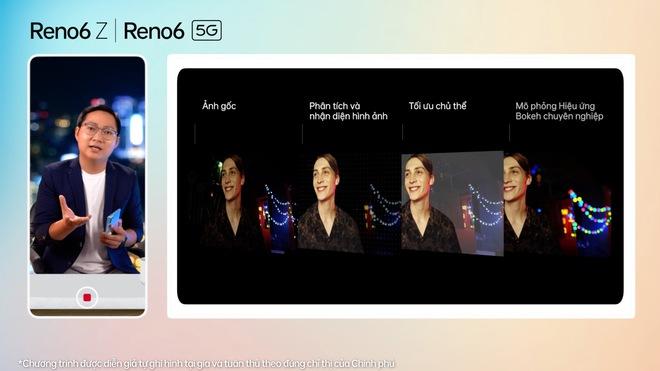 OPPO Reno6/6 Z 5G chính thức ra mắt: Thiết kế Reno Glow ấn tượng, camera nâng cấp, sạc nhanh VOOC đủ cả, giá từ 9.49 triệu - Ảnh 4.