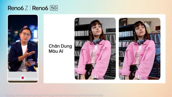 Nhìn lại những điểm khác biệt OPPO Reno6 series vừa thể hiện: nhiều tính năng camera thú vị, nhấn mạnh vai trò AI, thiết kế bắt mắt - Ảnh 7.