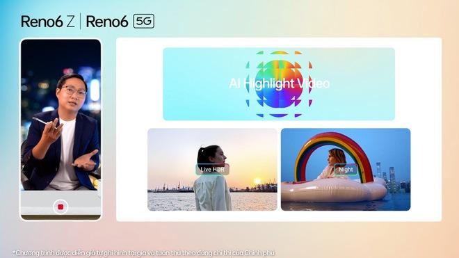 Nhìn lại những điểm khác biệt OPPO Reno6 series vừa thể hiện: nhiều tính năng camera thú vị, nhấn mạnh vai trò AI, thiết kế bắt mắt - Ảnh 6.