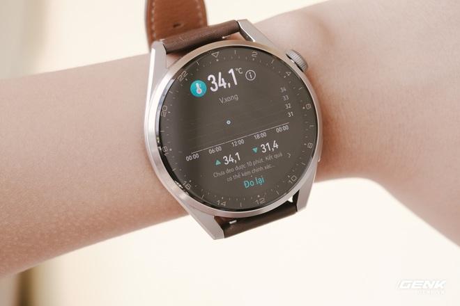 Trên tay Huawei Watch 3 Pro: Thiết kế nam tính chỉ hợp với cổ tay to, hỗ trợ eSIM, có tính năng đo thân nhiệt, pin 5 ngày, giá 13 triệu đồng - Ảnh 19.