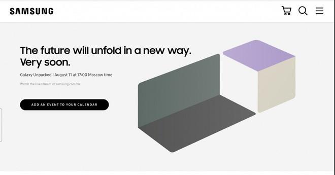 Samsung chính thức gửi thư mời sự kiện Galaxy Unpacked, ra mắt Galaxy Z Fold 3, diễn ra vào ngày 11 tháng 8 - Ảnh 1.