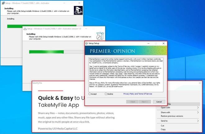 Tải Windows 11 lậu, người dùng được khuyến mãi thêm mã độc - Ảnh 2.