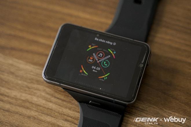 """Trên tay Lokmat Appllp Max: Smartwatch """"siêu to khổng lồ"""" chạy Android, có 4G, cấu hình """"ngon"""", đánh game phà phà - Ảnh 8."""