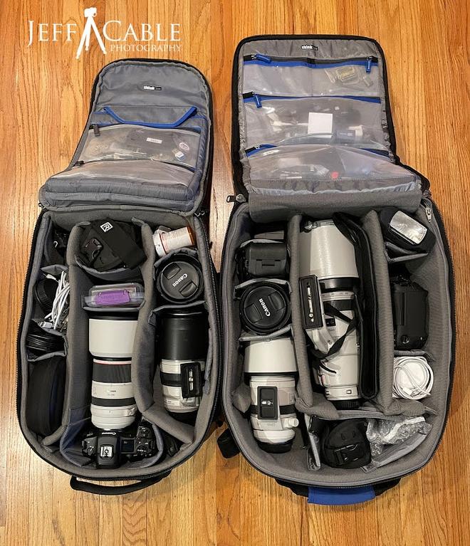 Cùng chiêm ngưỡng bộ gear khủng mà các nhiếp ảnh gia mang tới Olympics Tokyo - Ảnh 2.